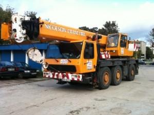 wynajem - dźwigi samojezdne 18 ton w Warszawie